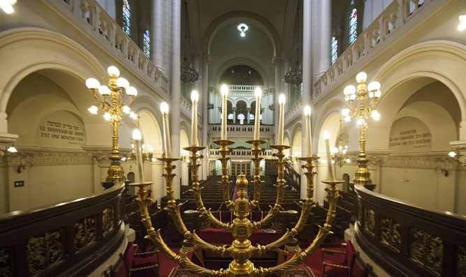 Synagogue in Brussels, Belgium