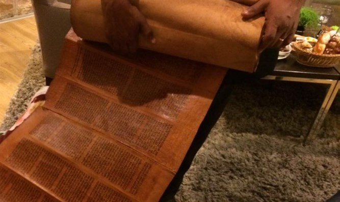 500-year-old Torah scroll brought from Yemen to Israel