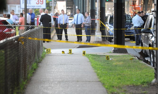 Scene of Queens shooting