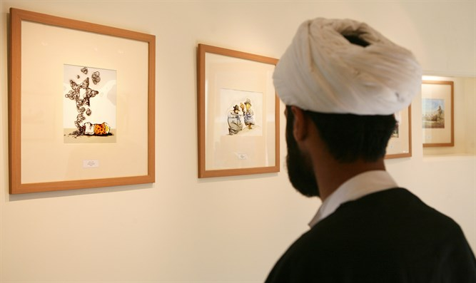 Exhibition at Iran's annual Holocaust cartoon competition (2006)