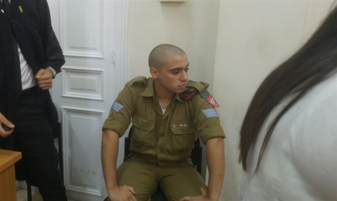 Elor Azariya returns to military court