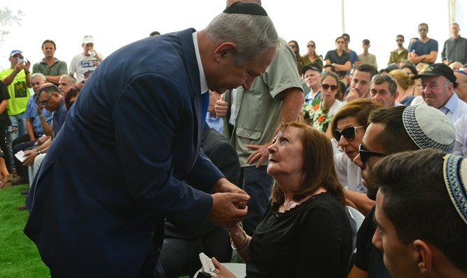 Netanyahu and Zehava Shaul
