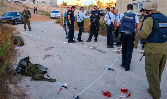 Scene of a terror attack (illustrative)