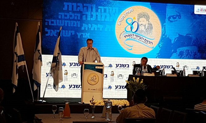Kalmanovich at the conference