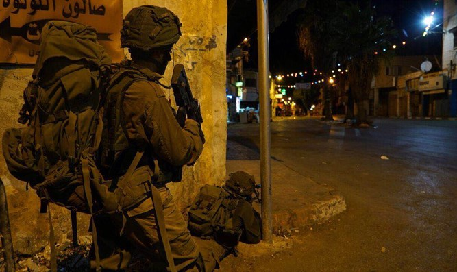 IDF forces operate in Jenin