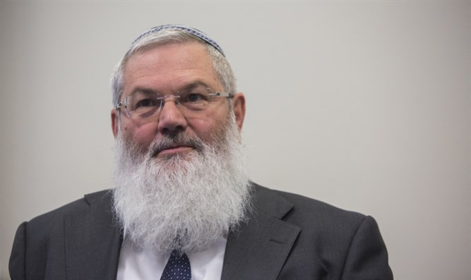 Deputy Defense Minister Rabbi Eli Ben-Dahan