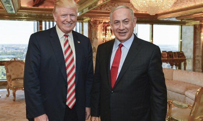 Trump meets with PM Netanyahu