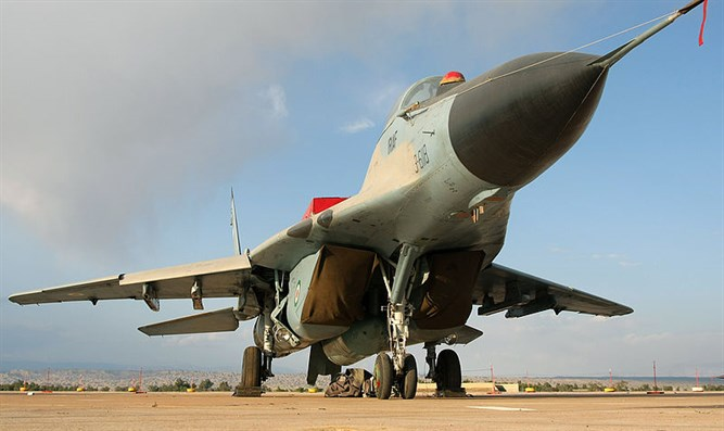 Russian MiG-29 fighter