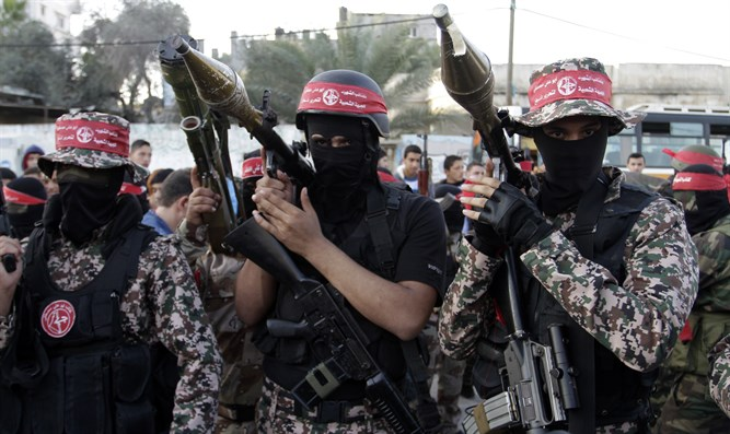 PFLP terrorists in Gaza