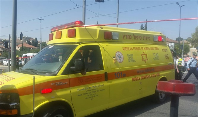 MDA ambulance (illustrative)
