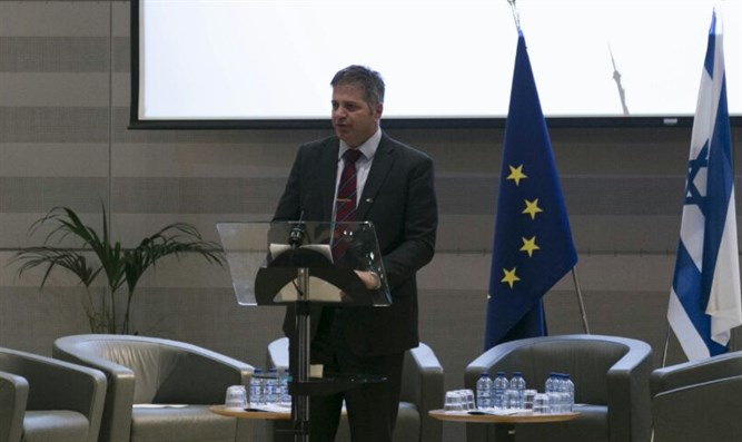 MK Yoav Kisch at EU Conference