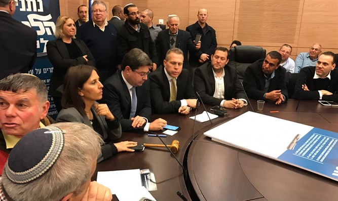 Likud ministers meet with Yesha leaders