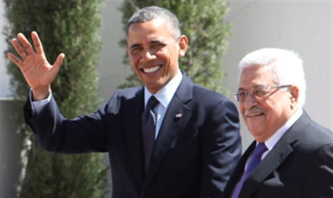 Barack Obama, Mahmoud Abbas