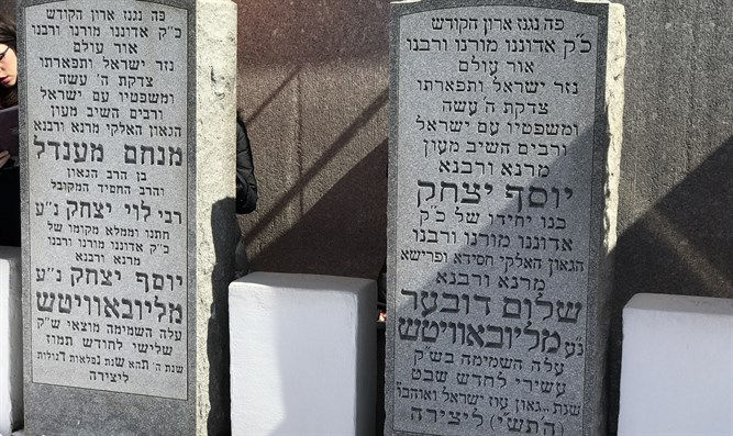 The Ohel of the sixth and seventh Lubavitcher Rebbes