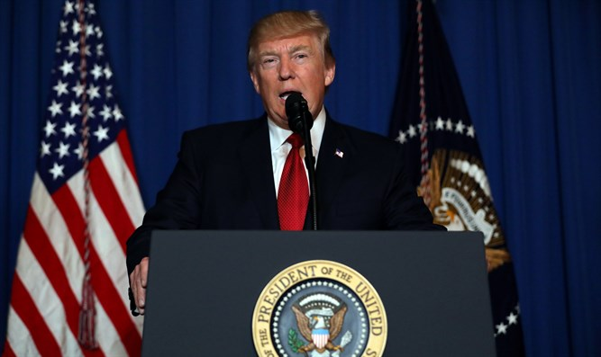 Trump delivers statement on Syria strike