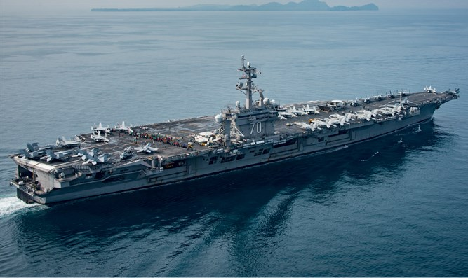 Aircraft carrier US