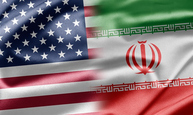 United States and Iran (illustration)