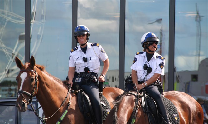Amsterdam police officers