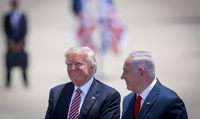 Trump and Netanyahu, today