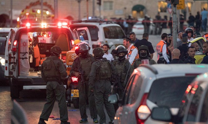Terror attack in Jerusalem