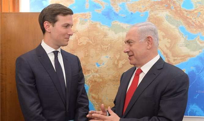 Jared Kushner and Binyamin Netanyahu