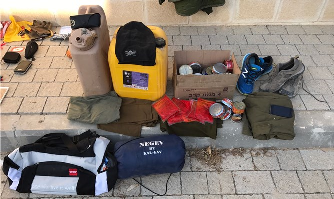 Stolen IDF equipment