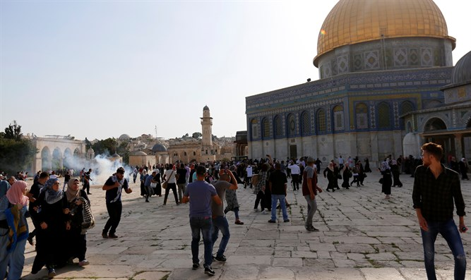 Violence on Temple Mount