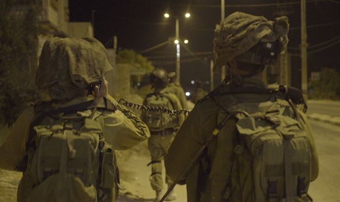 IDF forces in Beita