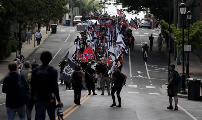 "The ""Unite the Right"" rally at Charlottesville"