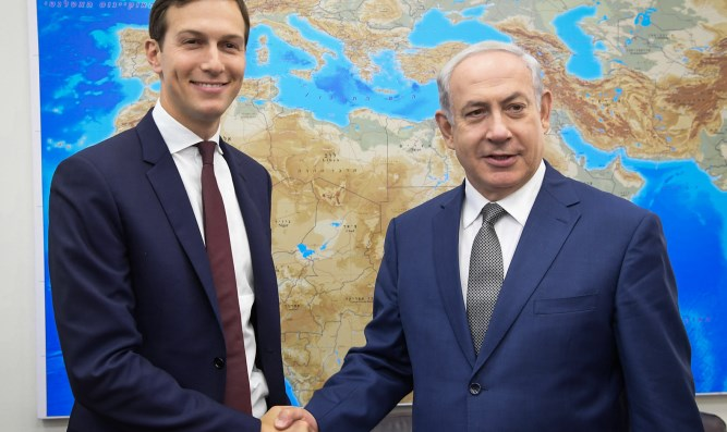 Netanyahu, Kushner meet in Jerusalem, August 24th, 2017
