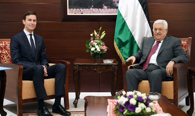 Jared Kushner and Mahmoud Abbas