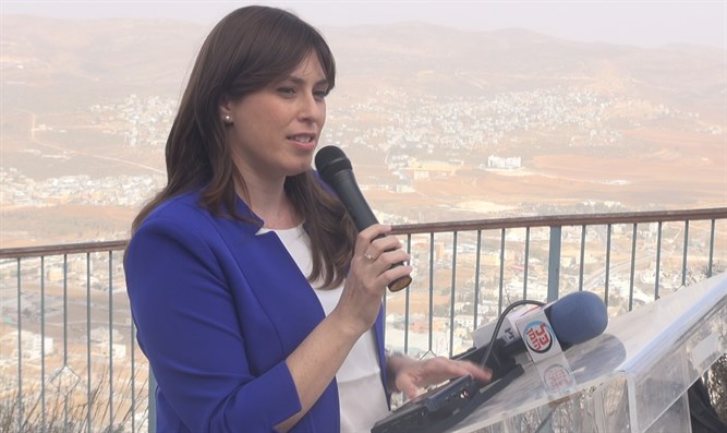 Tzipi Hotovely speaks with lawmakers from around the world