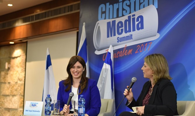 Hotovely at Christian Media Summit