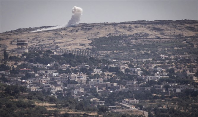 Fighting near Druze town of Hader in Golan