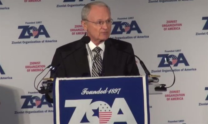 ZOA chief Morton Klein