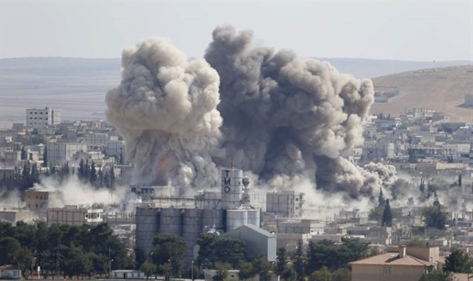 Explosion in Syria (archive)
