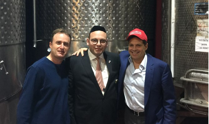Anthony Scaramucci at Psagot Winery