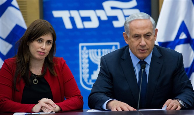 Netanyahu with Tzipi Hotovely