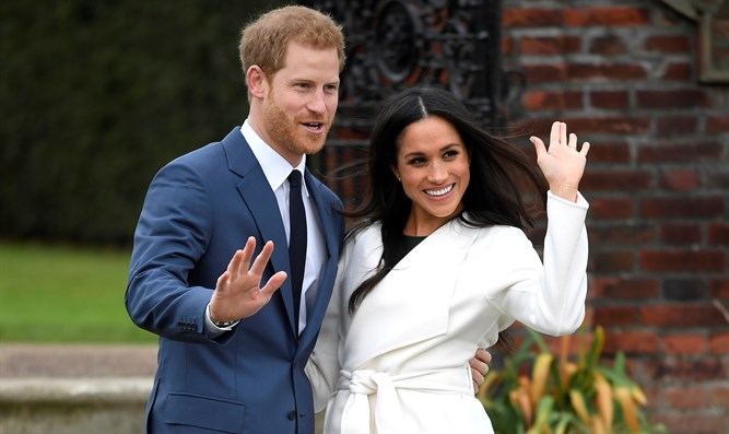 Prince Harry and fiance Meghan Markle