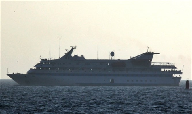 The Mavi Marmara flotilla vessel