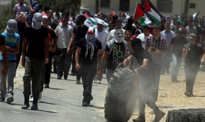 Palestinian Arab rioters