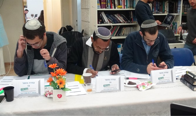 Supporting Torah scholars
