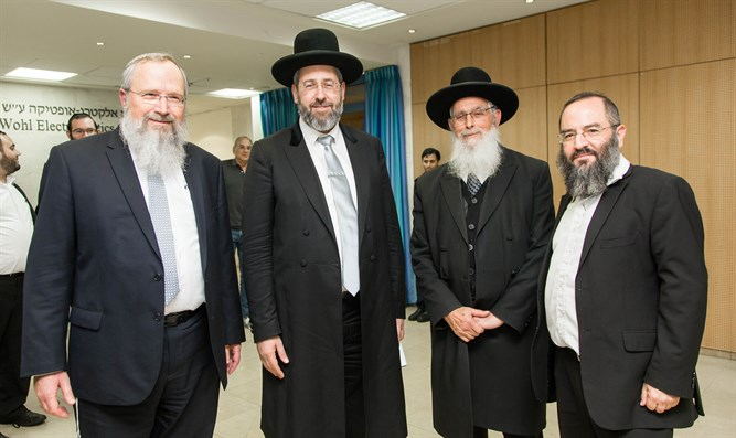 Senior rabbis at Keter Institute conference