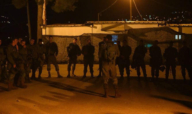 IDF forces following attack near Havat Gilad