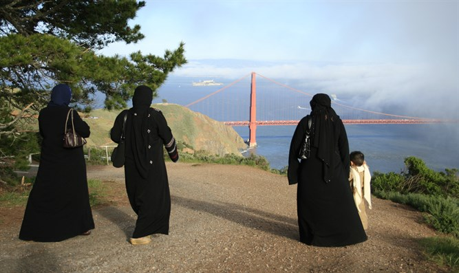 American Muslims outside of San Francisco
