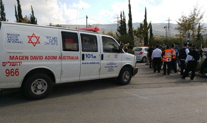 Ambulance Beitar Illit (archive image)