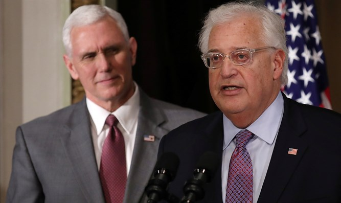 Mike Pence and David Friedman