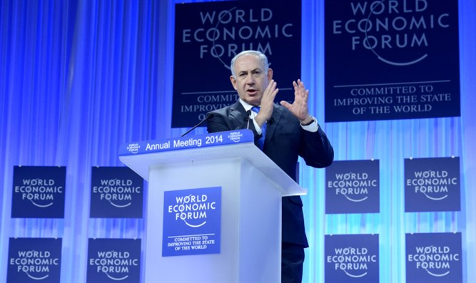 Netanyahu at the World Economic Forum in Davos