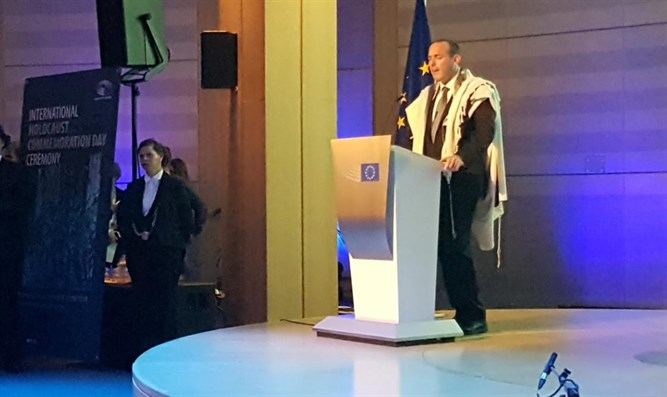 IDF Chief Cantor Shai Abramson at the European Parliament