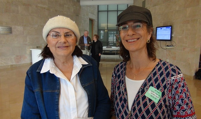 Yehudit Katsover and Nadia Matar